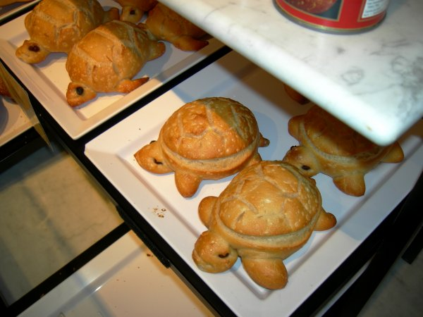 Boudin: Cute Little Sourdough Turtles