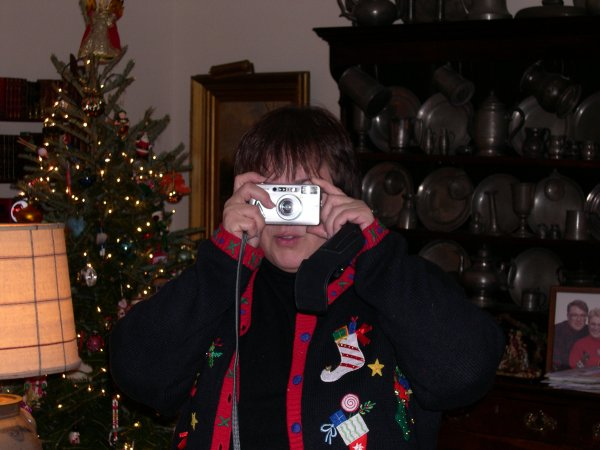 009. Mom taking a picture of me