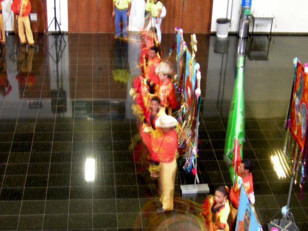 Mato Grosso traditional dancers (2)
