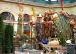 Bellagio: a somewhat disturbing scarecrow