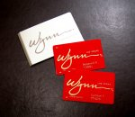 Wynn hotel room: VIP room cards (also rewards cards for the casino)
