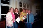 Suzanne Barnes Combs, Charleen Harpe Cross, Cathy Szabo Hackney, Peg Hochreiter Young, Judy Chodl Keith