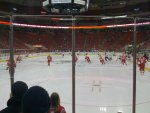 Devils at Hurricanes: warm-ups