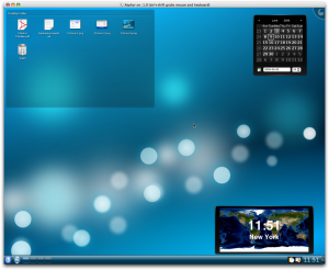 KDE4/X11 Plasma Desktop on Mac OS X