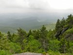 Looking down from Grandfather Mountain.