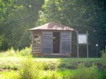 Pee Dee National Wildlife Refuge: duck blind at sullivan pond