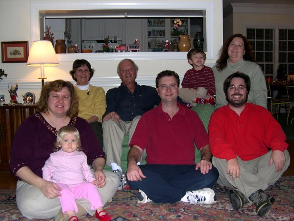 Sally, Nelson, Cameron, Lysa, Mike, Ben, and Stephanie
