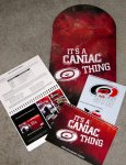 Hurricanes Season Ticket Holder packet