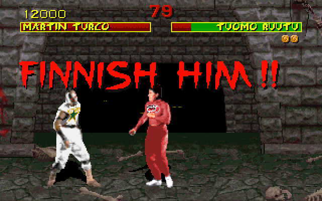 Mortal Kombat: FINNISH HIM!  (Tuomo Ruutu vs. Marty Turco)