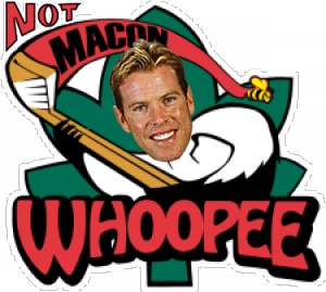 Tripp Tracy is NOT Macon Whoopee!