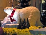 Bellagio conservatory: another polar bear