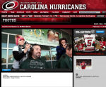 Carolina Hurricanes Web Page