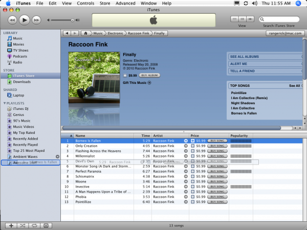 how to create new playlist from checked songs on itunes