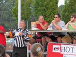 Ron the Ref, introducing the competitive eaters