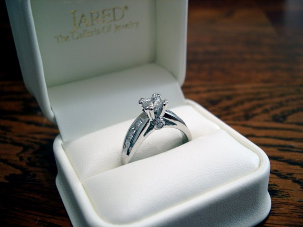 Engagement Ring (angle view)