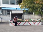 fruit stand at the Culture Center