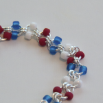 Red White & Blue Bracelet