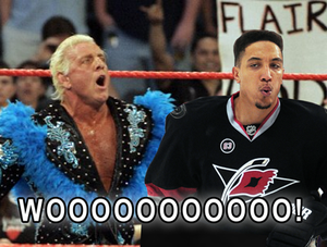 Anthony Stewart and Ric Flair say, WOOOOOOO!