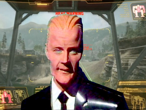 Max Headroom + MechWarrior Online