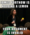 James Portnow is Holding a Lemon - Your Argument is Invalid