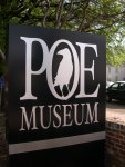 Richmond - Poe Museum - Sign