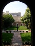 Richmond - Poe Museum - Gardens (View Back Towards House)