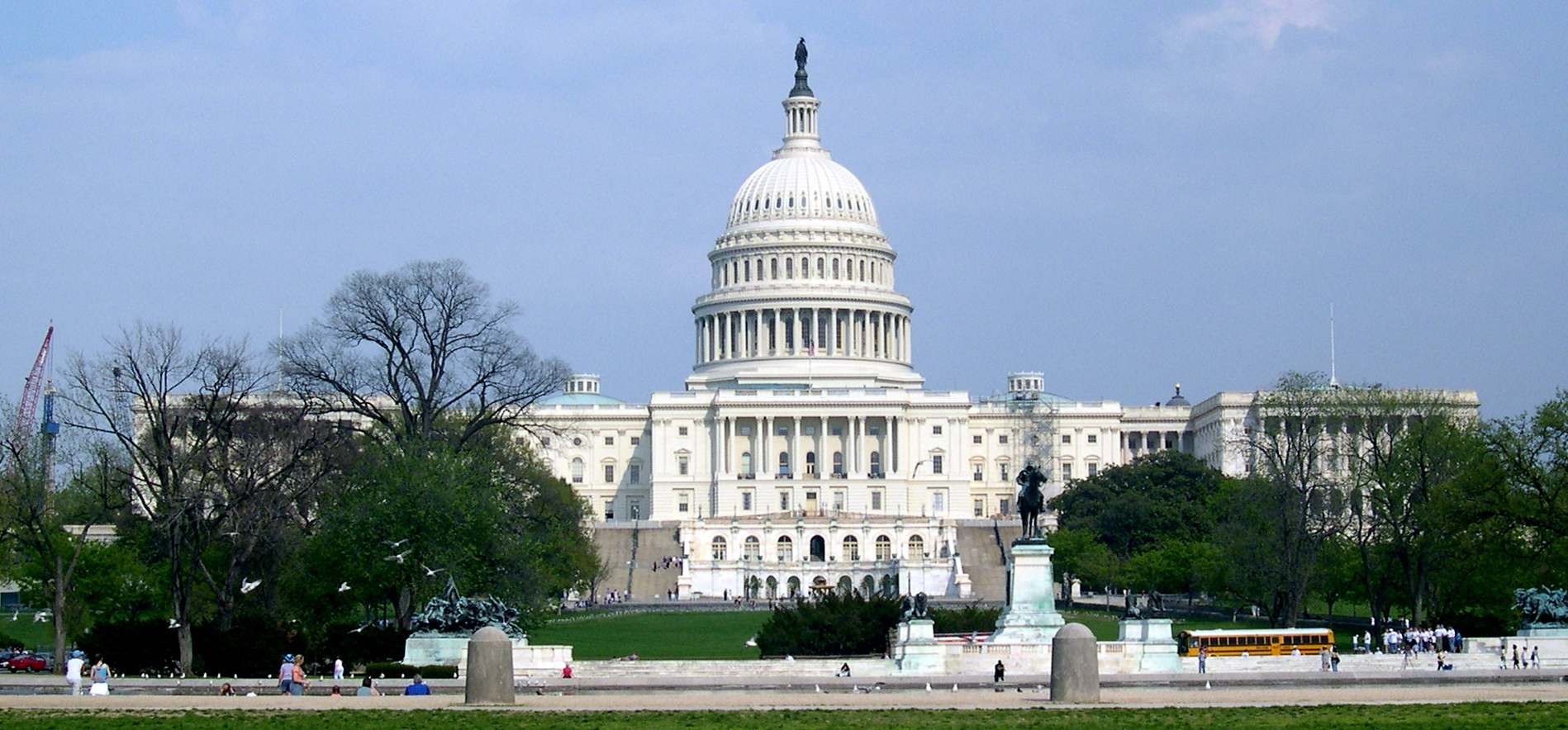 Washington D.C. - The Mall - Capitol Building 2