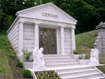 Cemetary - Mobster's tomb.