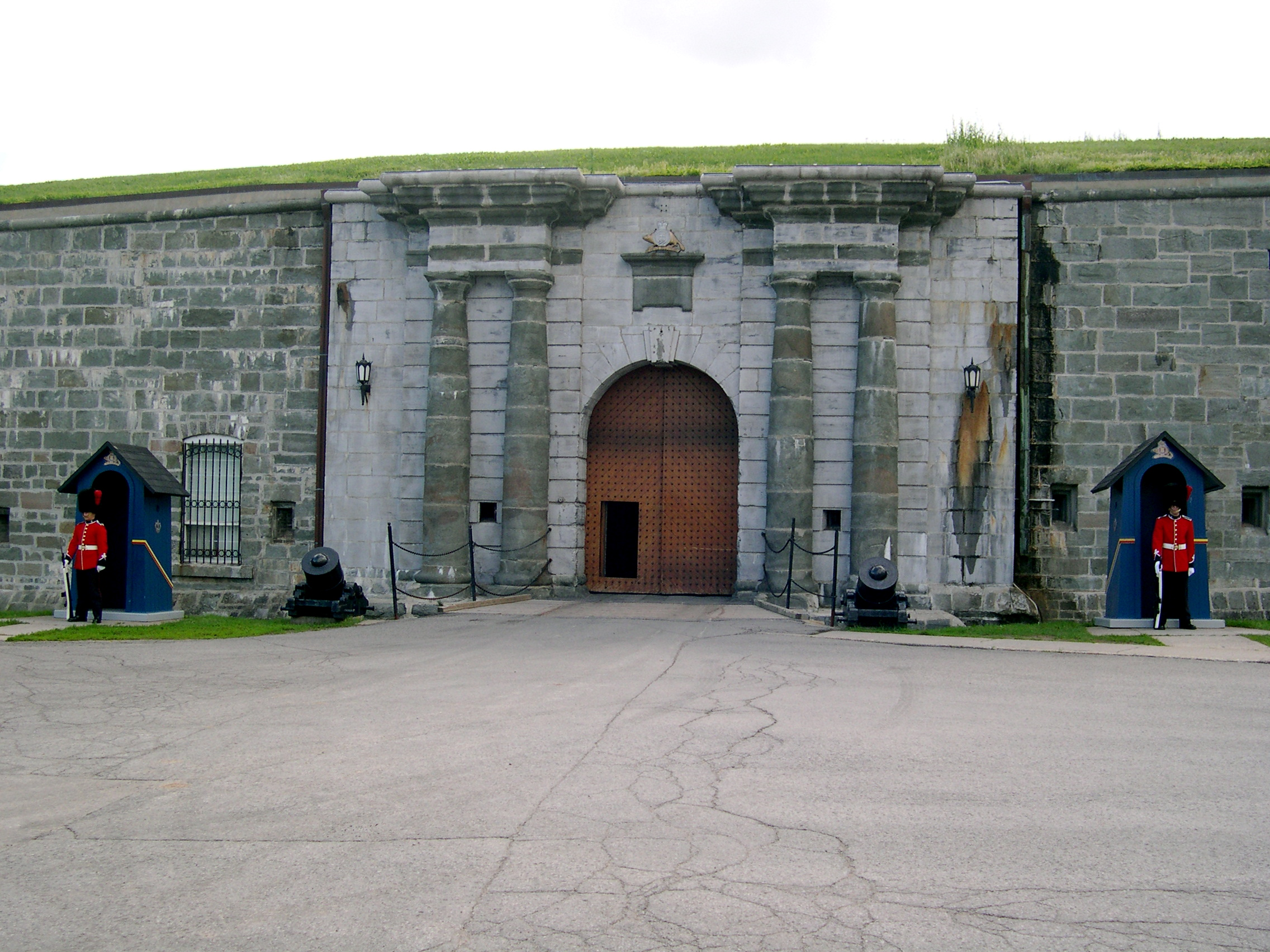 The Citadel - Main entrance.