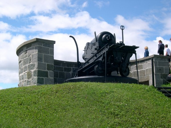 "The Citadel - A very powerful cannon, named ""Rachel"" by the King."