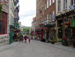 Quebec City - The streets of old Quebec.