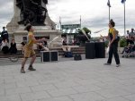 Quebec City - Fun jugglers.