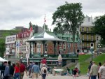 Quebec City - The boardwalk.