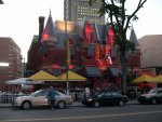 "Quebec City - The ""haunted club""."