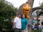 Ben & Cyn -- and a dragon!