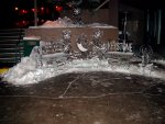 neat ice sculptures