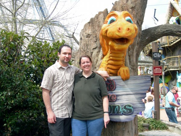 Seth and Mette and the Dragon