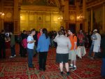 City Chambers: geeks milling around
