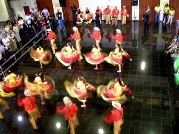 Mato Grosso traditional dancers (4)