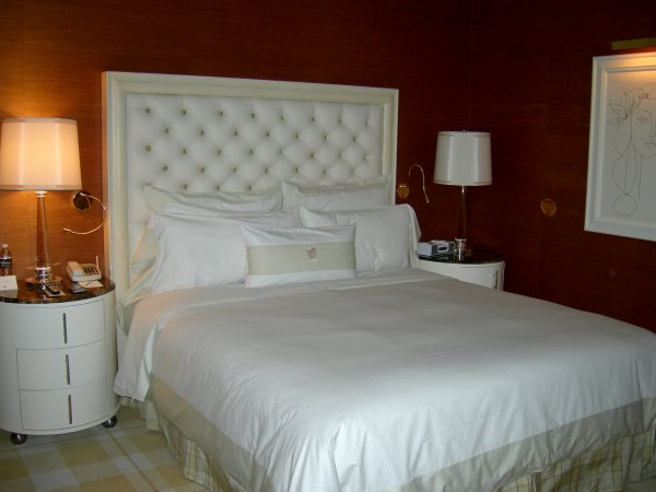 Wynn Hotel Room Bed And Droors